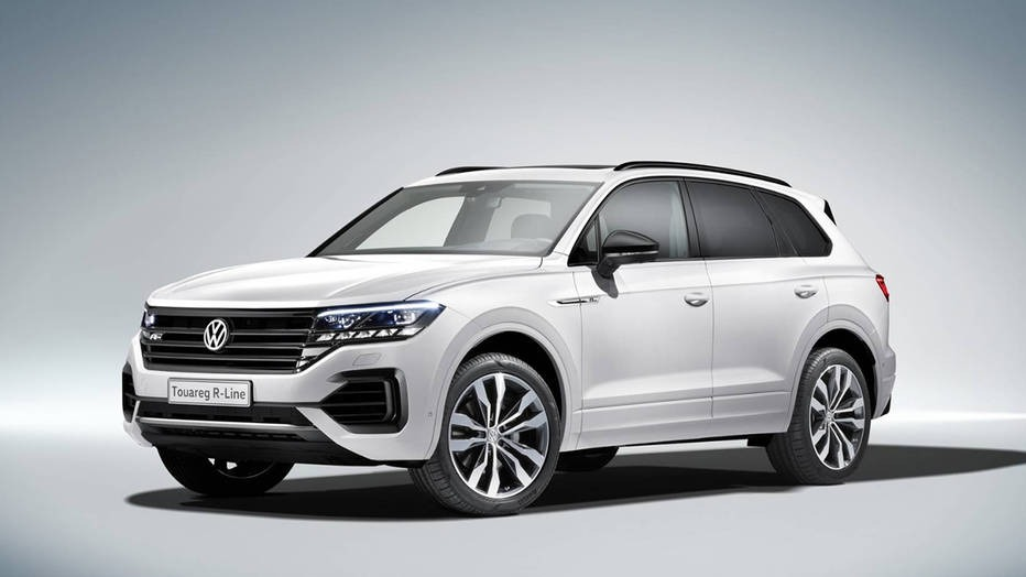 2019 Volkswagen Touareg Review, Test Drive