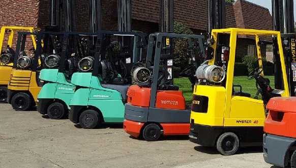 Commonly Used Types of Forklifts in the United States