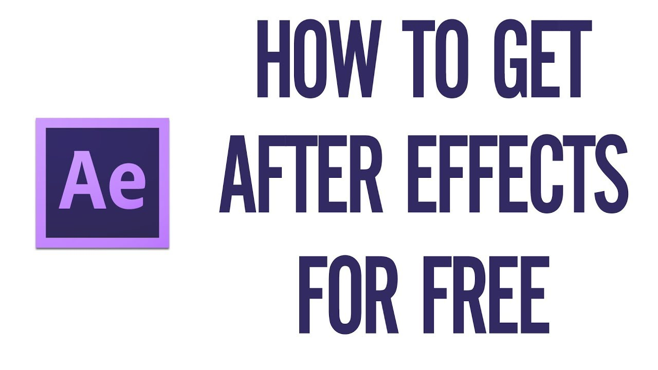 How To Download Adobe After Effects For Free Theforbiz