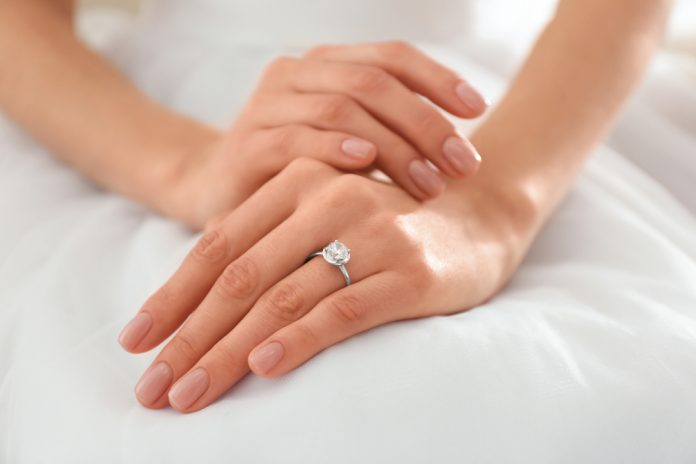 Estimated cost of diamond rings in London