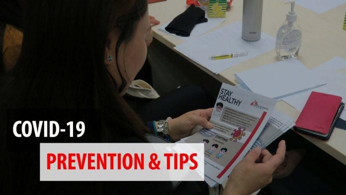 COVID-19 Prevention Tips in 2021